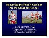 Dr. Bernhardt's presentation (pdf) - UW Health