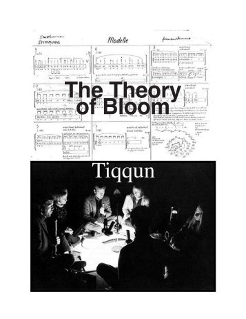 The Theory of Bloom Tiqqun - Zine Library