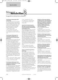 Neue Vorschriften November 2012 - rehmnetz.de