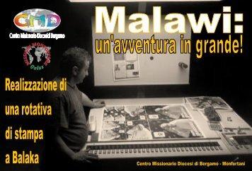 Malawi - Centro Missionario Diocesano di Bergamo