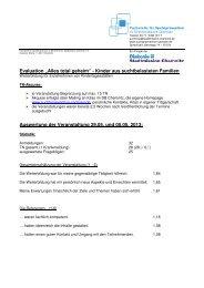 Kurzevaluation Chemnitz 2013 - Suchtprävention in Sachsen