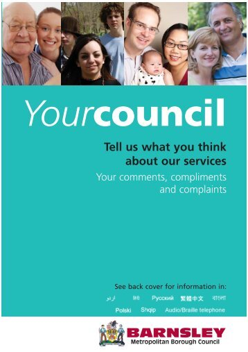 form - Barnsley Council Online