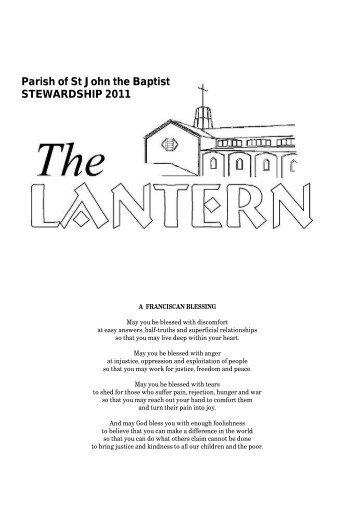 Stewardship - Anglican Church of St John the Baptist, in