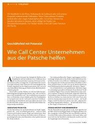 Download Artikel CallCenterProfi - Studiosus Reisen München GmbH