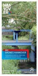 Grünes Hannover 2013 - Hannover.de