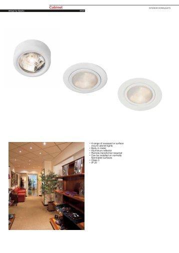 Cabinet 2024 Bi-pin G4 - Spazio Lighting