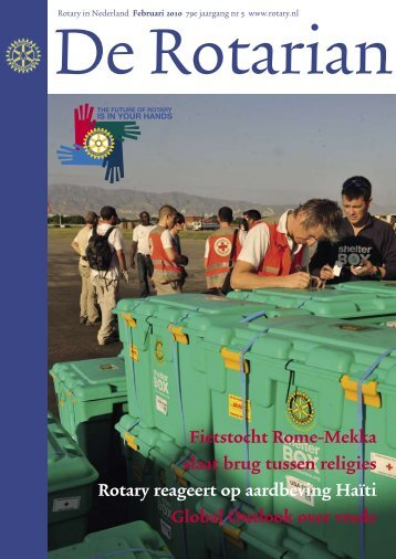 Fietstocht Rome-Mekka slaat brug tussen ... - Rotary Nederland