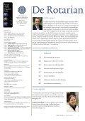Fietstocht Rome-Mekka slaat brug tussen ... - Rotary Nederland - Page 3
