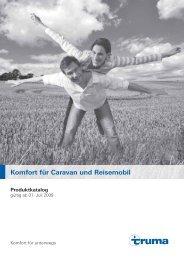 Komfort für Caravan und Reisemobil - Selzam