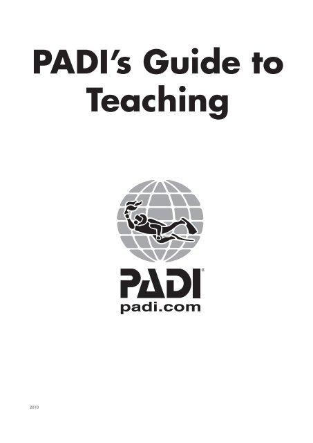 Padi Guide To Teaching Pdf