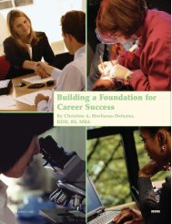 Building a Foundation for Career Success - Professional Savvy, LLC