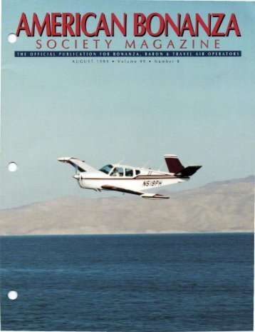 August 1999 - American Bonanza Society