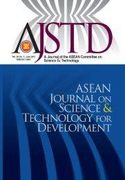 AJSTD 29(1) 2012.pdf - Akademi Sains Malaysia