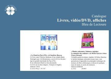 Livres, vidéo/DVD, affiches - Bleu de Lectoure