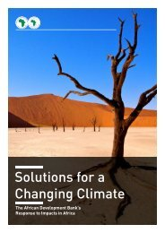 Solutions for a Changing Climate - Office International de l'Eau