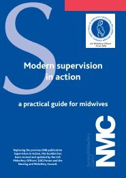 Modern supervision in action a practical guide for ... - NHS North West