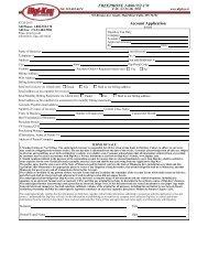 Account Application FREEPHONE 1-800-552-170 - Digikey