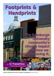 Footprints & Handprints - People & Planet