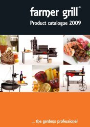 Product catalogue 2009 - Barbecueplein