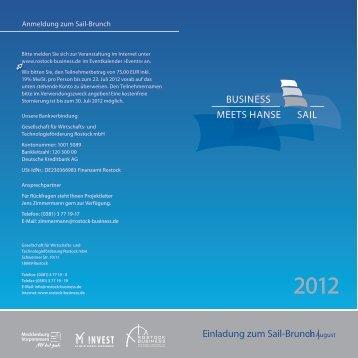 Druckversion Programm Sail-Brunch - Rostock