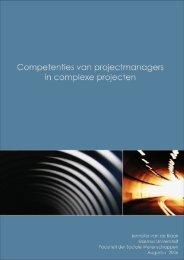 Scriptie Competenties van projectmanagers NETLIPSE - Transumo ...