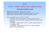 TCAS – Traffic Collision and Avoidance System
