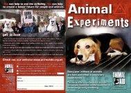 Youth viv leaflet - Animal Aid