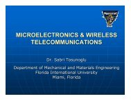 Microelectronics and Wireless Technologies - Engineering and ...