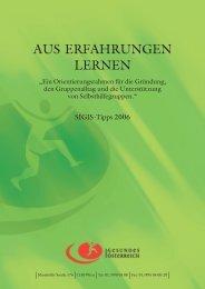 Aus Erfahrungen lernen (PDF | 600 KB) - Fonds Gesundes Österreich