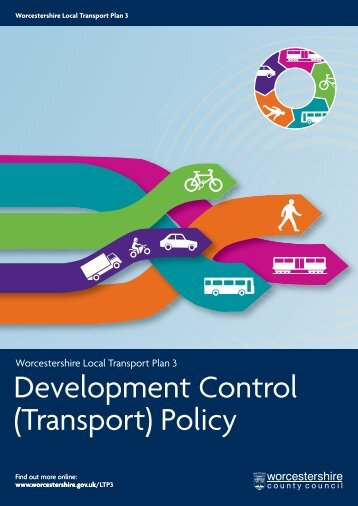 Development Control (Transport) Policy - Worcestershire County ...