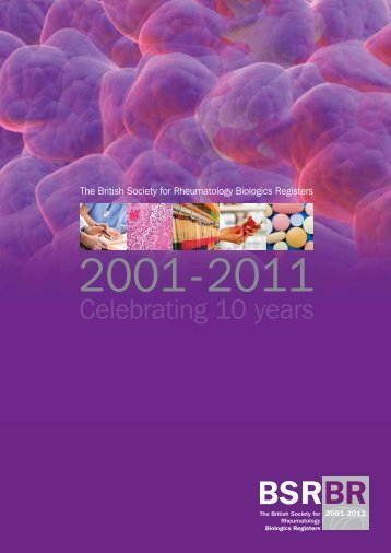 BSRBR 10th Anniversary brochure - The British Society for ...