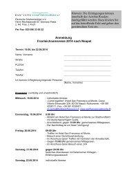 Anmeldung Fronleichnamsreise 2014 nach Neapel - Deutsche ...