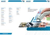 SATO Identification et fourniture de solutions ... - Sato Europe
