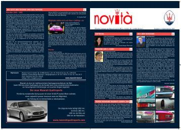Novità 4 - Maserati Club Schweiz