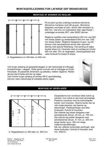 Montage for GKF brandvægge.pdf - Moland