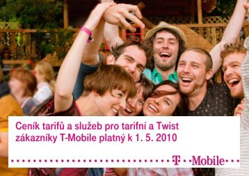 Ceník služeb T-Mobile - 2010 květen