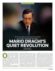 MARIO DRAGHI'S QUIET REVOLUTION - Thomson Reuters