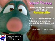Ratatouille - Visual Hollywood