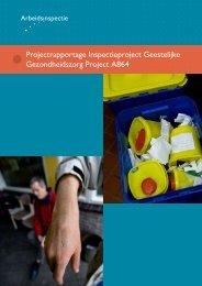 Inspectie in de Geestelijke Gezondheidszorg ... - Inspectie SZW