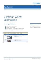 Contrexx® WCMS Bildergalerie