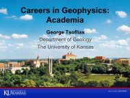 Careers in Geophysics: Academia - Society of Exploration ...