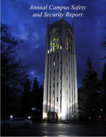 Annual Campus Safety and Security Report - University of the Pacific