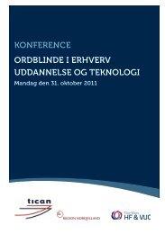 Invitation til Ordblindekonference - Thy-Mors HF & VUC