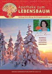 Kundenzeitung aktuell - Apotheke zum Lebensbaum