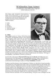 SF-Klassiker: Isaac Asimov - SFGH