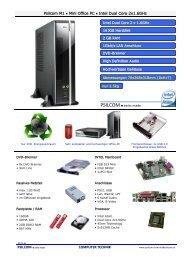Psilcom M1 • Mini Office PC • Intel Dual Core 2x1.6GHz COMPUTER ...