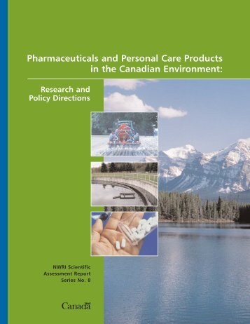 Pharmaceuticals and Personal Care Products in the Canadian