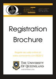 Register securely online at: www.aomevents.com/ISS2012