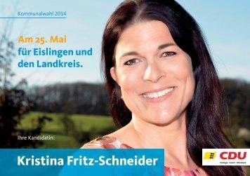 Kristina Fritz-Schneider