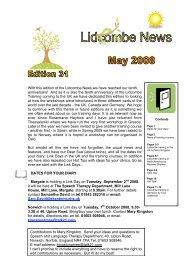 Lidcombe News Edition 31st - Montreal Fluency